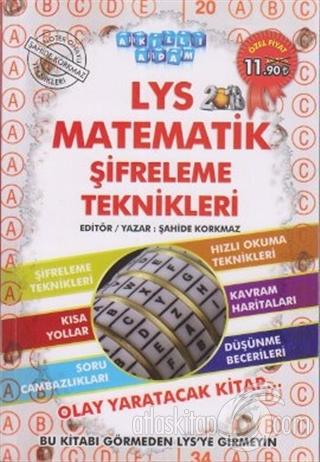 LYS MATEMATİK ŞİFRELEME TEKNİKLERİ 2013 (  )