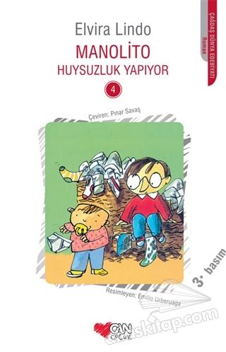 MANOLİTO HUYSUZLUK YAPIYOR - 4 KİTAP (  )