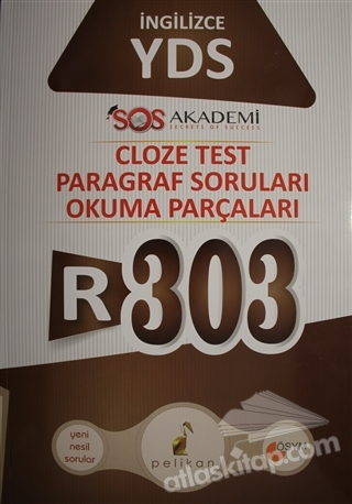 İNGİLİZCE YDS R-303 CLOZE TEST PARAGRAF SORULARI OKUMA PARÇALARI (  )