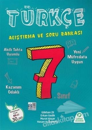 7. SINIF TÜRKÇE ALIŞTIMA VE SORU BANKASI (  )