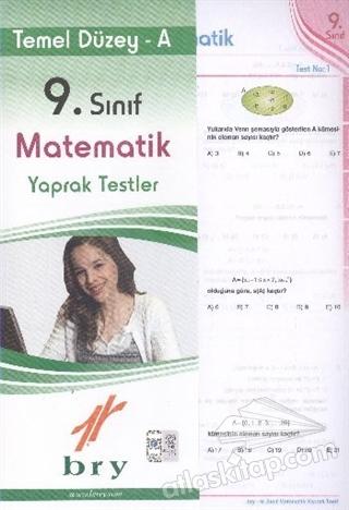 BİREY 9. SINIF MATEMATİK YAPRAK TESTLER TEMEL DÜZEY - A (  )
