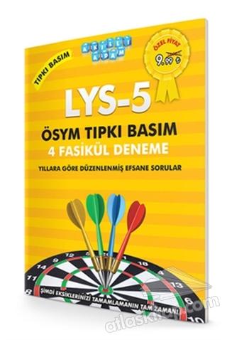 AKILLI ADAM LYS - 5 ÖSYM TIPKI BASIM 4 FASİKÜL DENEME (  )
