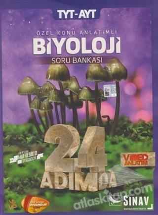 2019 TYT-AYT 24 ADIMDA BİYOLOJİ ÖZEL KONU ANLATIMLI SORU BANKASI (  )
