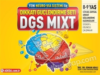 ADEDA - DGS MIXT DİKKATİ GÜÇLENDİRME SETİ  8-9 YAŞ (  )