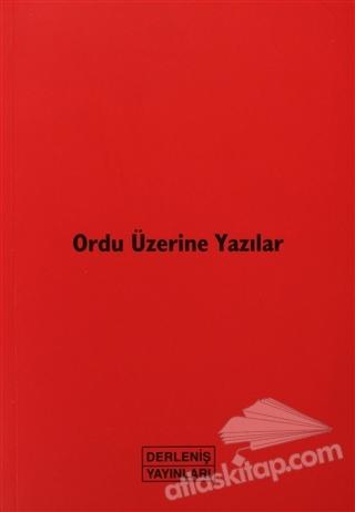 ORDU ÜZERİNE YAZILAR (  )
