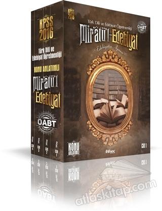 İHTİYAÇ 2016 ÖABT TÜRK DİLİ VE EDEBİYAT ÖĞRETMENLİĞİ KONU ANLATIMLI MODÜLER SET - 4 KİTAP TAKIM (  )