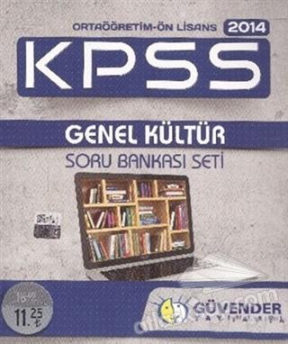 GÜVENDER 2014 KPSS ORTAÖĞRETİM - ÖNLİSANS GENEL KÜLTÜR SORU BANKASI SETİ (  )