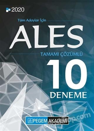 2020 ALES TAMAMI ÇÖZÜMLÜ 10 DENEME (  )