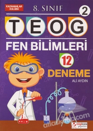 8. SINIF TEOG 2 FEN BİLİMLERİ 12 DENEME (  )