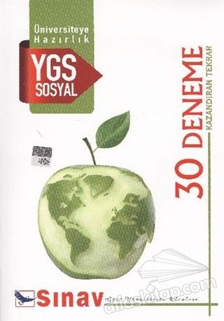 SINAV YGS SOSYAL 30 DENEME ( KAZANDIRAN TEKRAR )