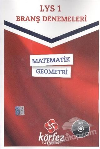 LYS - 1 BRANŞ DENEMELERİ MATEMATİK - GEOMETRİ (DVD'Lİ) (  )