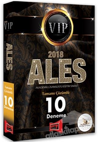 2018 ALES VIP TAMAMI ÇÖZÜMLÜ 10 DENEME (  )