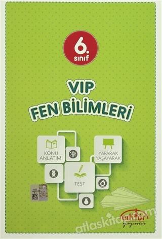 6. SINIF VIP FEN BİLİMLERİ KONU ANLATIMLI (  )