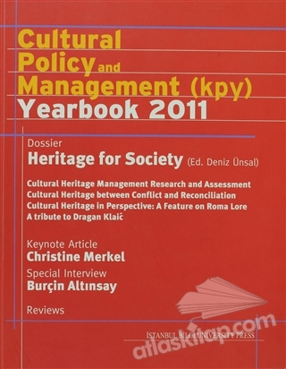 CULTURAL POLİCY AND MANAGEMENT (KPY) YEAR BOOK 2011 (  )