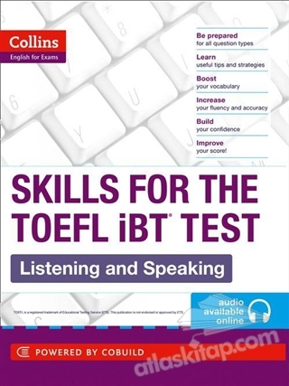 COLLİNS SKİLLS FOR THE TOEFL İBT LİSTENİNG AND SPEAKİNG + AUDİO ONLİNE (  )