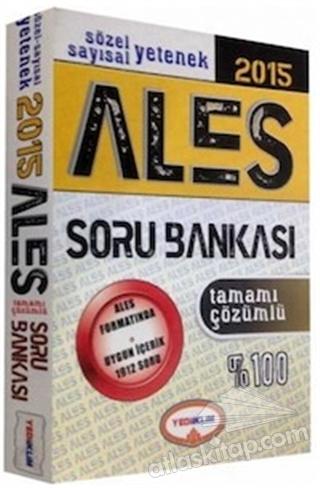 YEDİİKLİM 2015 ALES TAMAMI ÇÖZÜMLÜ SORU BANKASI (  )