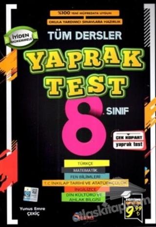 8. SINIF TÜM DERSLER YAPRAK TEST (  )