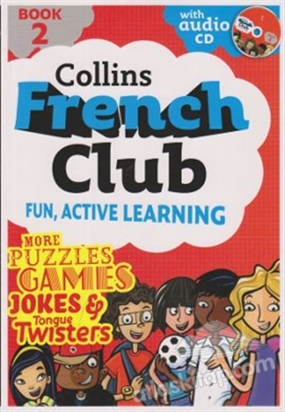 COLLİNS FRENCH CLUB FUN, ACTİVE LEARNİNG BOOK 2 (  )