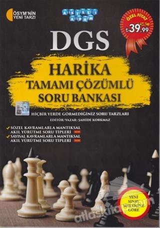 DGS HARİKA TAMAMI ÇÖZÜMLÜ SORU BANKASI (  )