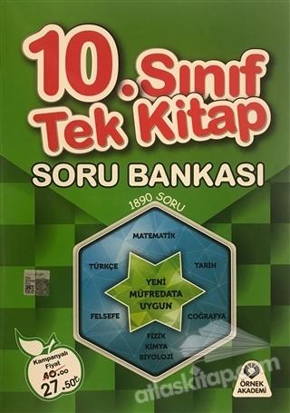 10. SINIF TEK KİTAP SORU BANKASI (  )
