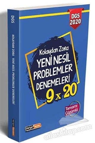 2020 DGS KOLAYDAN ZORA 9×20 YENİ NESİL ÇÖZÜMLÜ PROBLEMLER DENEMELERİ TAMAMI ÇÖZÜMLÜ (  )