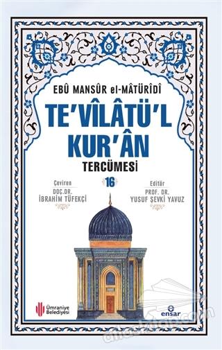 TE'VİLATÜL KUR'AN TERCÜMESİ 16. CİLT (  )