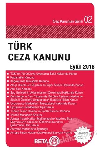 TÜRK CEZA KANUNU (EYLÜL 2018) (  )