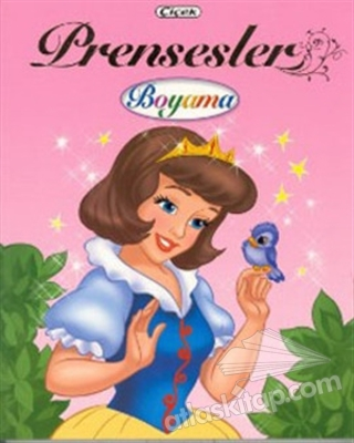 PRENSESLER BOYAMA KİTABI - 4 (  )
