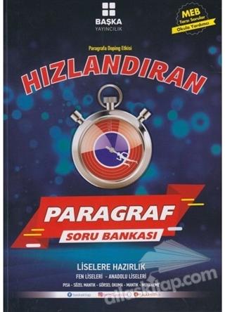 HIZLANDIRAN PARAGRAF SORU BANKASI (  )