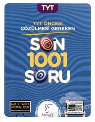 TYT ÖNCESİ ÇÖZÜLMESİ GEREKEN SON 1001 SORU (  )