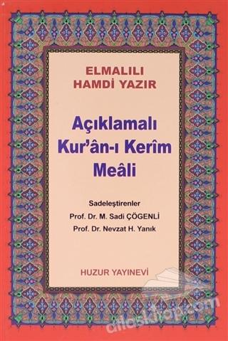 AÇIKLAMALI KUR'AN-I KERİM MEALİ (ÇANTA BOY METİNSİZ) (044) (  )