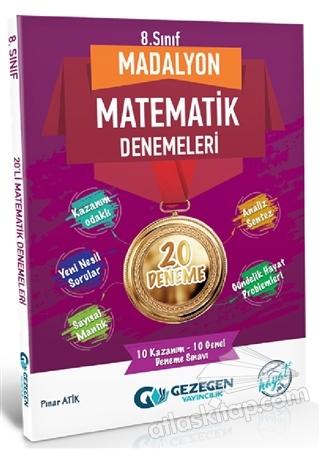 8. SINIF MADALYON MATEMATİK DENEMELERİ 20 DENEME ( 10 KAZANIM - 10 GENEL DENEME SINAVI )