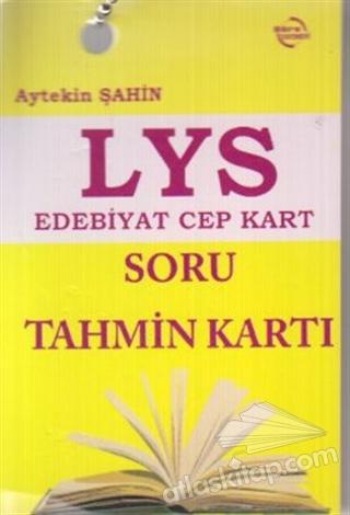 LYS EDEBİYAT CEP KART - SORU TAHMİN KARTI (  )