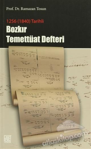 1256 (1840) TARİHLİ - BOZKIR TEMETTÜAT DEFTERİ (  )