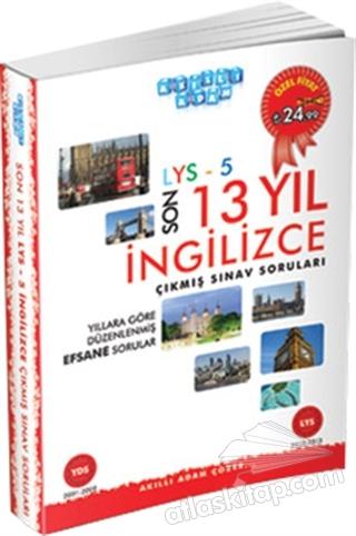 2014 LYS-5 SON 13 YIL İNGİLİZCE ÇIKMIŞ SINAV SORULARI (  )