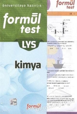LYS KİMYA FORMÜL YAPRAK TEST ( ÜNİVERSİTEYE HAZIRLIK )