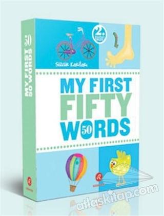 MY FİRST 50 WORDS ( İLK ELLİ SÖZCÜĞÜM )