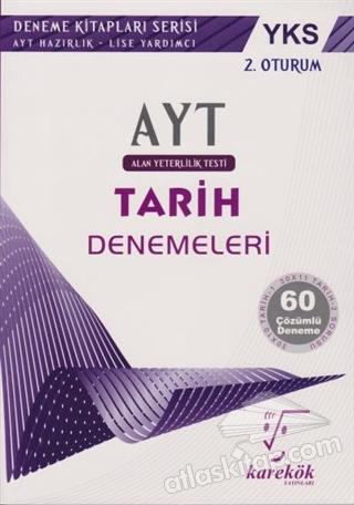 2018 YKS AYT 2. OTURUM 60 ÇÖZÜMLÜ TARİH DENEMELERİ ( AYT HAZIRLIK - LİSE YARDIMCI )
