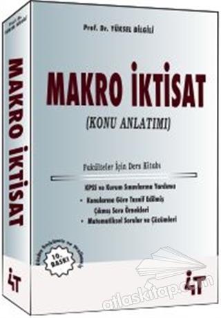 Makro Iktisat Konu Anlatımı Kitap 10 Indirimle Satın Al Atlas Kitap