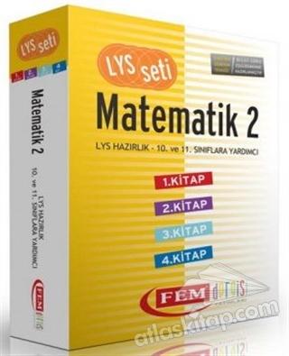 LYS SETİ MATEMATİK 2 - 4 KİTAP SET ( LYS HAZIRLIK 10. VE 11. SINIFLARA YARDIMCI )