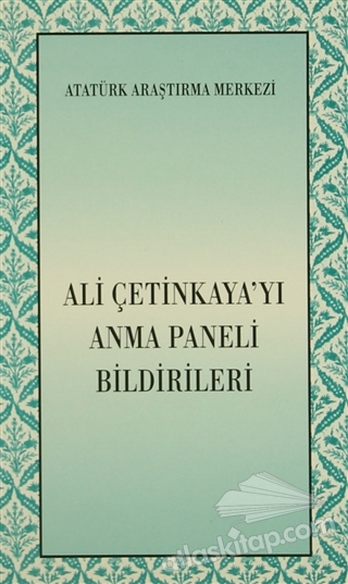 ALİ ÇETİNKAYA'YI ANMA PANELİ BİLDİRİLERİ (  )
