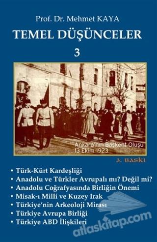 TEMEL DÜŞÜNCELER 3 (  )