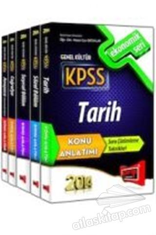 2014 KPSS TARİH KONU ANLATIMI EKONOMİK SET (  )