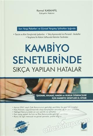 KAMBİYO SENETLERİNDE SIKÇA YAPILAN HATALAR (  )