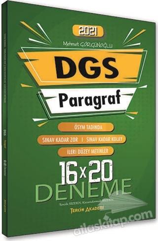 2021 DGS PARAGRAF SÖZEL BÖLÜM 16x20 DENEME (  )