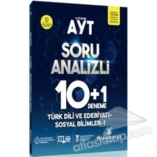 AYT TÜRK DİLİ VE EDEBİYATI-SOSYAL BİLİMLER 1 SORU ANALİZLİ 10 ARTI 1 DENEME (  )