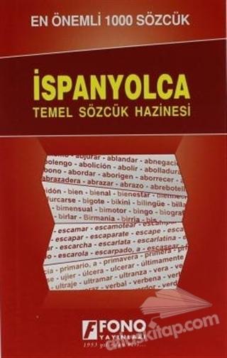 İSPANYOLCADA EN ÖNEMLİ 1000 SÖZCÜK (  )