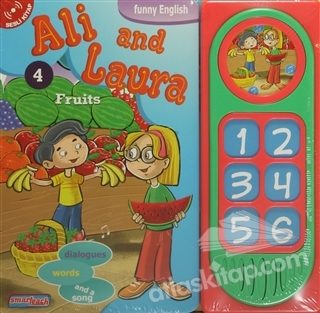ALİ AND LAURA 4 - FRUİTS (SESLİ KİTAP) (  )