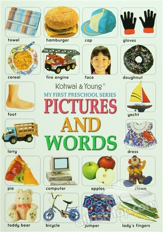 MY FİRST PRECSHOOL SERİES: PİCTURES AND WORDS (  )
