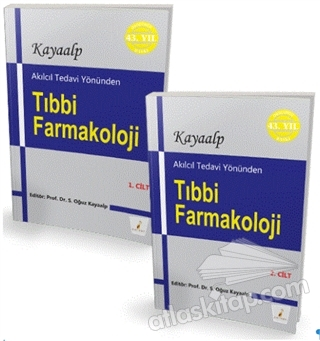 AKILCIL TEDAVİ YÖNÜNDEN TIBBİ FARMAKOLOJİ (2 CİLT TAKIM) (  )
